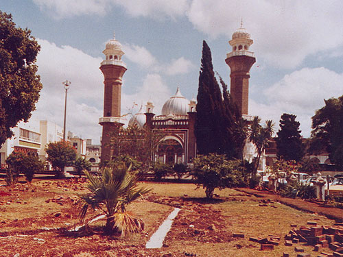 Image result for history of Nairobi Jamia mosque