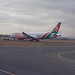 Kenya Airways Dreamliner at JKIA